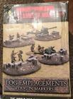 Flames of War BB107 Log Emplacements (MINT) Retail $20.00 Free Shipping!