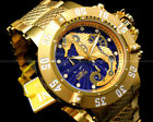 Invicta Men's 50mm Subaqua Noma III SEAHORSE Swiss Ronda Movt 18 K G.P S.S Watch