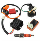Ignition Coil CDI Box Spark Plug Relay Kit For 50cc-125cc ATV Quad Moped Scooter