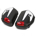 03-up ABS Hard Saddle bags For Honda Street VFR1200F ST1300 CTX CB W/Bracket