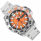 Seiko 5 Sports Automatic Orange Dial Male Monster Watch SRP483 SRP483K SRP483K1