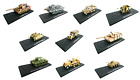 SET OF 10 MILITARY VEHICLES 172 DIECAST MODEL TANK WAR WW2 ARMY USSR GERMANY T6