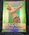 JACK NICKLAUS 2011 Leaf Metal Golf GREEN Prismatic Refractor AUTO #BA-JN1 08 10