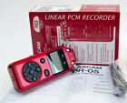 TASCAM DR-05 Digital Recorder with Omnidirectional Microphones - Red