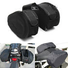 2x 36-58L Big Capacity Motorcycle Pannier Bag Luggage Saddle Bag With Rain Cover