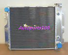 3ROW Aluminum Radiator FOR Jeep Wrangler 87 95 YJ  97 02 TJ w Chevy V8 Engine