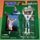 1998 TROY AIKMAN Dallas Cowboys Starting Lineup - FREE s/h - HOF Kenner NM+