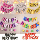 New Happy Birthday Self Inflating Balloom Banner Buntings Party Home Decor US