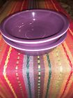 Two (2) Fiesta Fiestaware Heather (plum) Soup / Cereal Bowls EXC