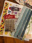 Huge Lot Of Scrapbook Crafting Stickers And Supplies