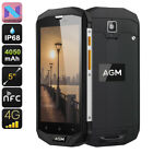AGM A8 - Rugged Android 7 Phone (4G, Quad Core, 3GB/4GB RAM, 5 Inch, 13MP, NFC)