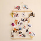 Modern DIY Wall Wooden Photo Frame Collage Picture Hanging Bedroom Home Gift