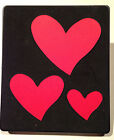 Sizzix Large Red Original Die Cutter TIPSY HEARTS Fancy Heart Card Cuts Love