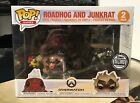 FUNKO POP BLIZZARD ROADHOG JUNKRAT 2 PC OVERWATCH 2018 SDCC COMIC CON EXCLUSIVE