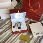 cartier santos watch with box papers bag