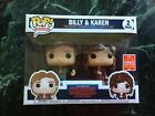 Funko Pop Television Billy and Karen Stranger Things 2-Pack SDCC 2018 EXCLUSIVE
