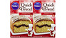 Pillsbury Quick Bread & Muffin Mix: Cinnamon Swirl (Pack of 2) 17.4 oz Boxes