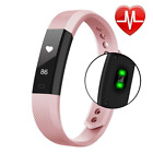 Fitness Tracker, VPRAWLS Smart Watch with Heart Rate Monitor Calorie Counter Ped