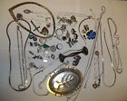STERLING SILVER 925 LOT 320 GRAMS jewelry Necklaces Bracelet Earrings Scrap/Wear