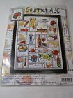 Counted Cross Stitch kit Design Works Gourmet ABC 2426