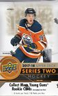 2017 18 Upper Deck Series 2 HOCKEY Hobby Box Factory Sealed