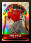 MIKE TROUT Angels 2011 Topps Finest Refractor Rookie Card RC #429 549 - RARE!