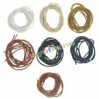 Round Waxed Shoelaces Oxford Dress Canvas Sneaker Shoe Laces Strings FASHION