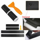 4Pcs Car Accessories Door Sill Scuff Protector Stickers 4D Carbon Fiber Tool Lot