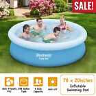 78x20 Easy Set Above Ground Inflatable Kids Family Water Play Swimming Pool