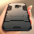 360 Armor Stand Phone Case Cover For Samsung Galaxy J3 J4 J6 J7 2018 A6 Plus A9