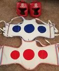 Sparring Gear Vests and Head Guards. Wansda. Very slightly used
