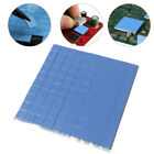 100x Blue 10*10MM Processor CPU Heatsink Cooling Thermal Conductive Silicone Pad