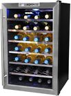 NewAir Wine Cooler Cellar 28-Bottle Cooling System Electronic Touch-Pad Control