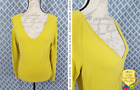 Woman's Super Nice *GAP* Yellow Casual Career Sweaer Top Size M