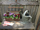 Vintage Metal Tool/Mail Box Primitive Farm Barn Rustic Industrial Country Garden