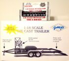 118 DIE CAST gmp TRAILER and MUSCLE CAR TIRE  RIM KIT NEW in BOX
