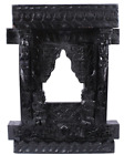 BLCAK COLOR VINTAGE STYLE SOLID WOOD JHAROKHA WINDOW WALL HANGING PAINTED FRAME