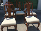8 Queen Ann Style Dining Chairs DN1004