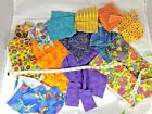 Bag of Fabric Scraps Remnants Many Pieces 115lbs Scrap Cloth Sewing Some New