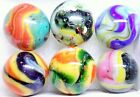 6 D.A.S. SOUTH PAW Marbles Display Box Set Lots of LUTZ + Aventurine + Frit