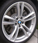 BMW OEM M Double Spoke 20 Wheel Alloy F01 F02 36 11 7 841 824