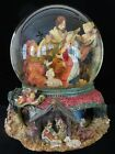 Nativity Music Water Globe Silent Night Intricate Christmas Decor KIRKLAND