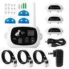 Wireless 1 2 3 Dog Fence No Wire Pet Containment System Rechargeable