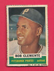 LOW GRADE AUTHENTIC 1960 BAZOOKA CARD #7 ROBERTO CLEMENTE *HAND CUT FROM GUM BOX