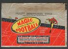 1951 Topps Magic Football Wax Pack Wrapper