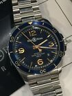 Bell & Ross BRV292 BLUE AERONAVALE Automatic Beautiful Box & Papers Included!