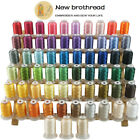 Polyester Embroidery Machine Thread Set 500m each 63 Spools