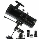 Astronomical Reflector Telescope Logic Drive Tripod Newtonian Star Finder Space