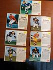 1962 POST FOOTBALL CARD 7 CARD LOT GREAT FILLERS ALL AUCTIONS .99