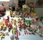 VINTAGE STRAWBERRY SHORTCAKE LARGE LOT DOLLS & PETS FAST SHIPPING!